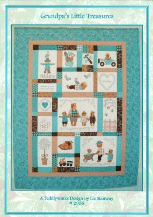 Grandpa's Little Treasures Quilt Kit